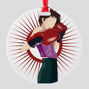Boxing Ornament