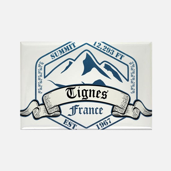 Tignes Ski Resort France Magnets