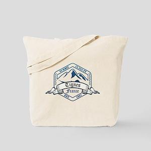 Tignes Ski Resort France Tote Bag