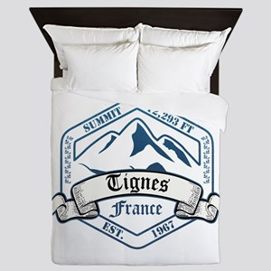 Tignes Ski Resort France Queen Duvet