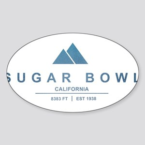 Sugar Bowl Ski Resort California Sticker