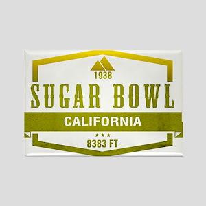 Sugar Bowl Ski Resort California Magnets