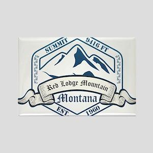 Red Lodge Mountain Ski Resort Montana Magnets