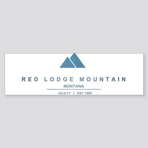 Red Lodge Mountain Ski Resort Montana Bumper Stick