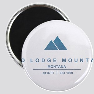 Red Lodge Mountain Ski Resort Montana Magnets