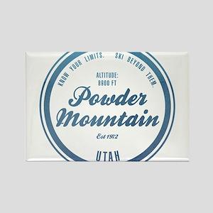 Powder Mountain Ski Resort Utah Magnets