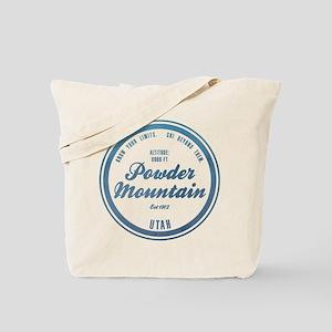 Powder Mountain Ski Resort Utah Tote Bag