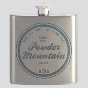 Powder Mountain Ski Resort Utah Flask