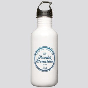 Powder Mountain Ski Resort Utah Water Bottle