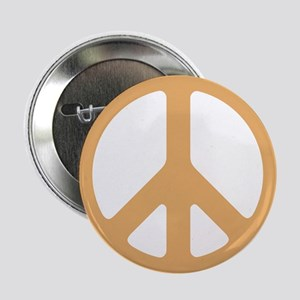 Gold Peace Sign Button
