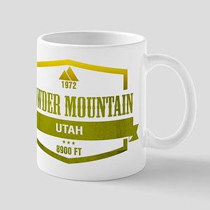 Powder Mountain Ski Resort Utah Mugs