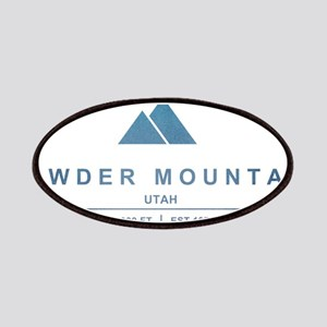 Powder Mountain Ski Resort Utah Patches