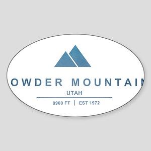 Powder Mountain Ski Resort Utah Sticker