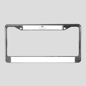 Portillo Ski Resort Chile License Plate Frame