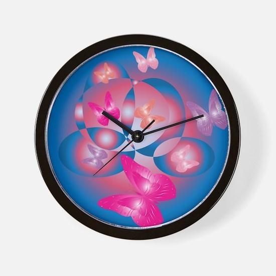 ROMANTIC ASTRACT Wall Clock