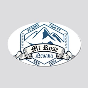 MT Rose Ski Resort Nevada Wall Decal
