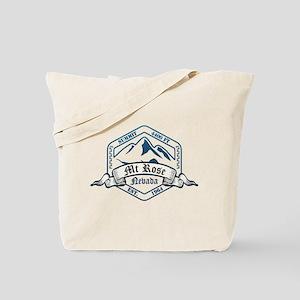 MT Rose Ski Resort Nevada Tote Bag