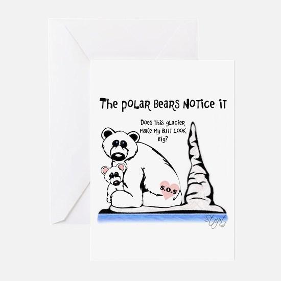Polar Bears Notice Greeting Cards (Pk of 10)