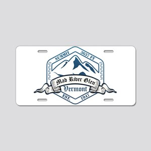 Mad River Glen Ski Resort Vermont Aluminum License