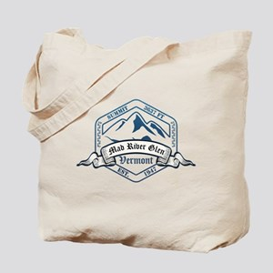 Mad River Glen Ski Resort Vermont Tote Bag