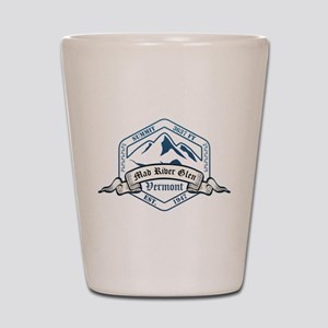 Mad River Glen Ski Resort Vermont Shot Glass