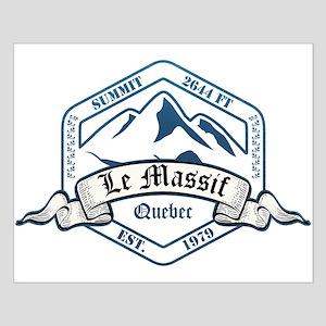Le Massif Ski Resort Quebec Posters