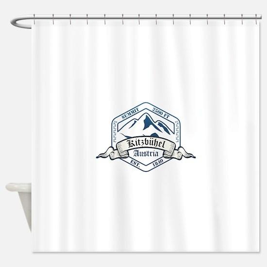 Kitzbuhel Ski Resort Austria Shower Curtain