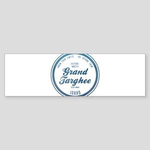 Grand Targhee Ski Resort Idaho Bumper Sticker