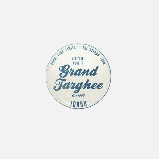 Grand Targhee Ski Resort Idaho Mini Button