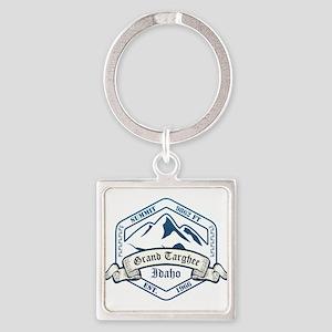 Grand Targhee Ski Resort Idaho Keychains