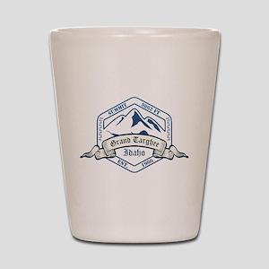 Grand Targhee Ski Resort Idaho Shot Glass