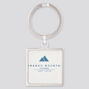 Durango Mountain Ski Resort Colorado Keychains