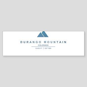 Durango Mountain Ski Resort Colorado Bumper Sticke