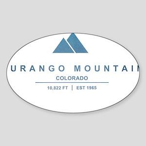 Durango Mountain Ski Resort Colorado Sticker