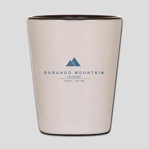 Durango Mountain Ski Resort Colorado Shot Glass