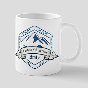 Cortina D Ampezzo Ski Resort Italy Mugs