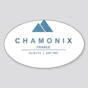 Chamonix Ski Resort France Sticker