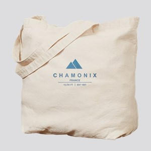 Chamonix Ski Resort France Tote Bag