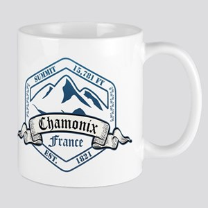 Chamonix Ski Resort France Mugs