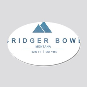 Bridger Bowl Ski Resort Montana Wall Decal