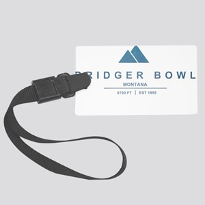 Bridger Bowl Ski Resort Montana Luggage Tag