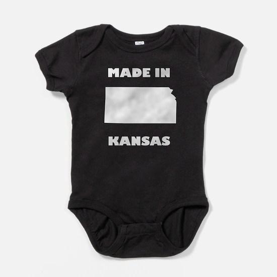 Made In Kansas Baby Bodysuit