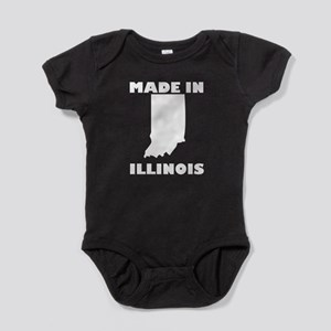 Made In Indiana Baby Bodysuit