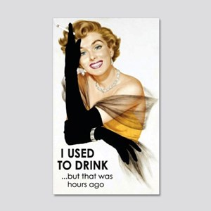 Used to Drink Wall Decal