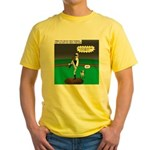 Baseball Dog Yellow T-Shirt