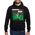 Baseball Dog Hoodie (dark)