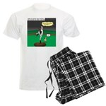 Baseball Dog Men's Light Pajamas