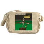 Baseball Dog Messenger Bag