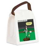 Baseball Dog Canvas Lunch Bag
