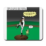Baseball Dog Mousepad